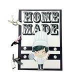 BUKU UNIK Home Made [CBB-152] - Scrapbook and Patchwork